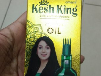 Kesh King Scalp And Hair Medicine Ayurvedic Oil pic 1-Nourishes hair-By Nasreen