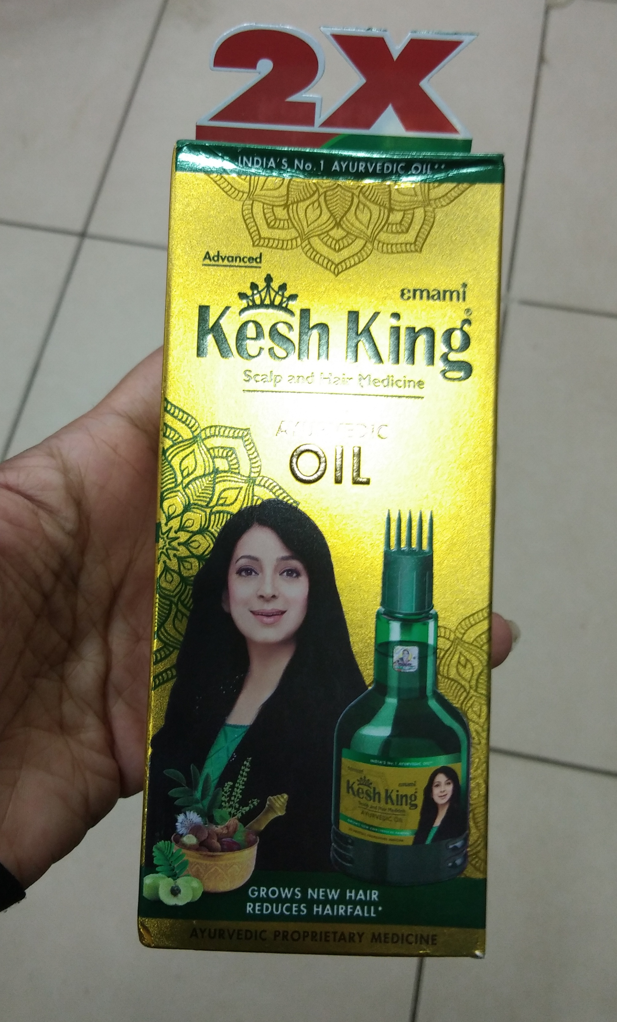 Kesh King Scalp And Hair Medicine Ayurvedic Oil-Nourishes hair-By Nasreen-1
