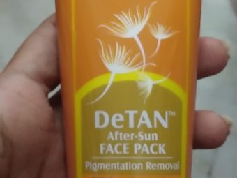 Lotus Herbals Safe Sun De-Tan After Sun Face Pack pic 2-Amazing product-By Nasreen