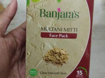 Banjaras Multani Mitti Face Pack Powder pic 1-Love it-By Nasreen