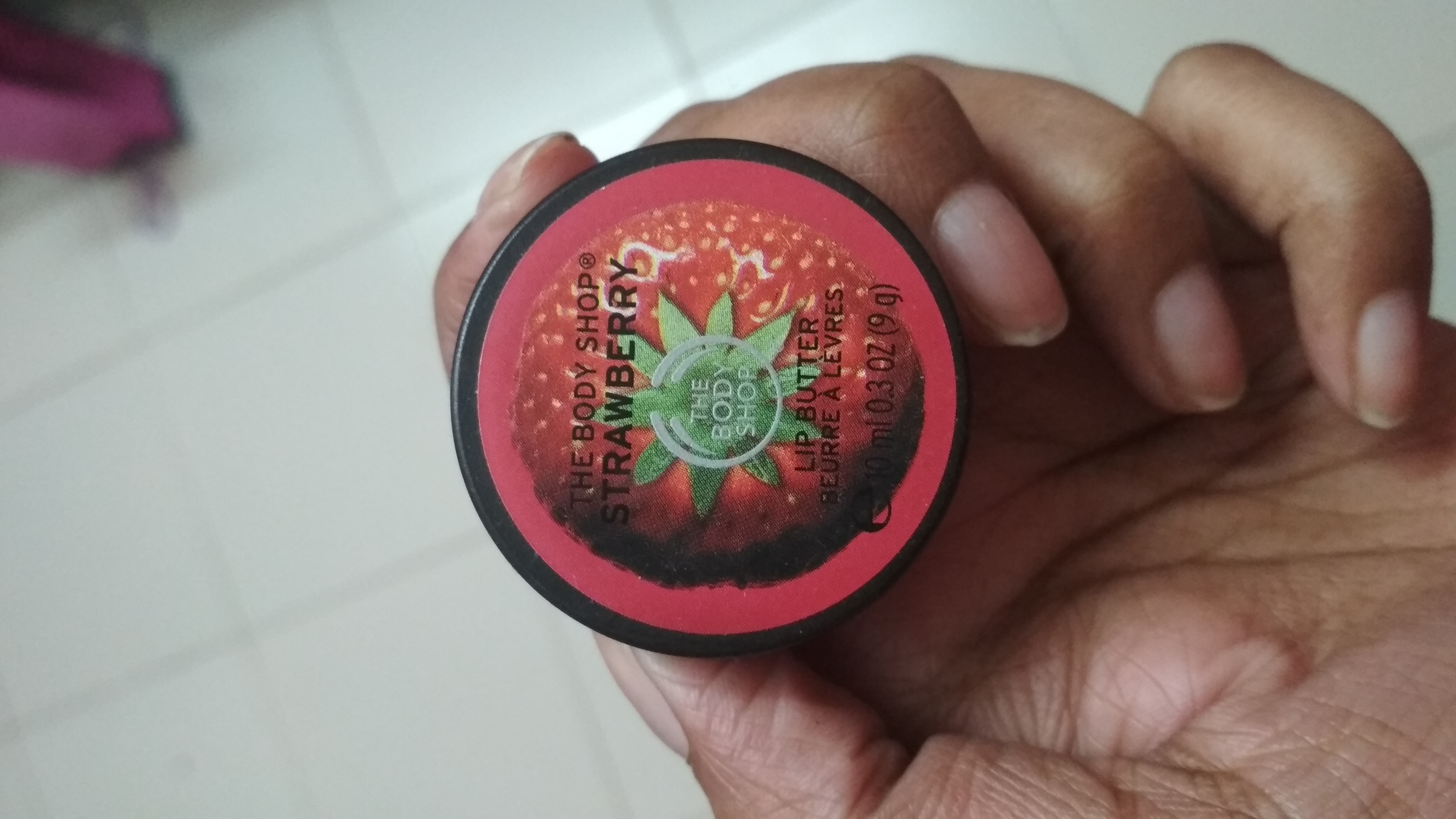 The Body Shop Strawberry Lip Butter-Body shop lip butter-By mitshu98