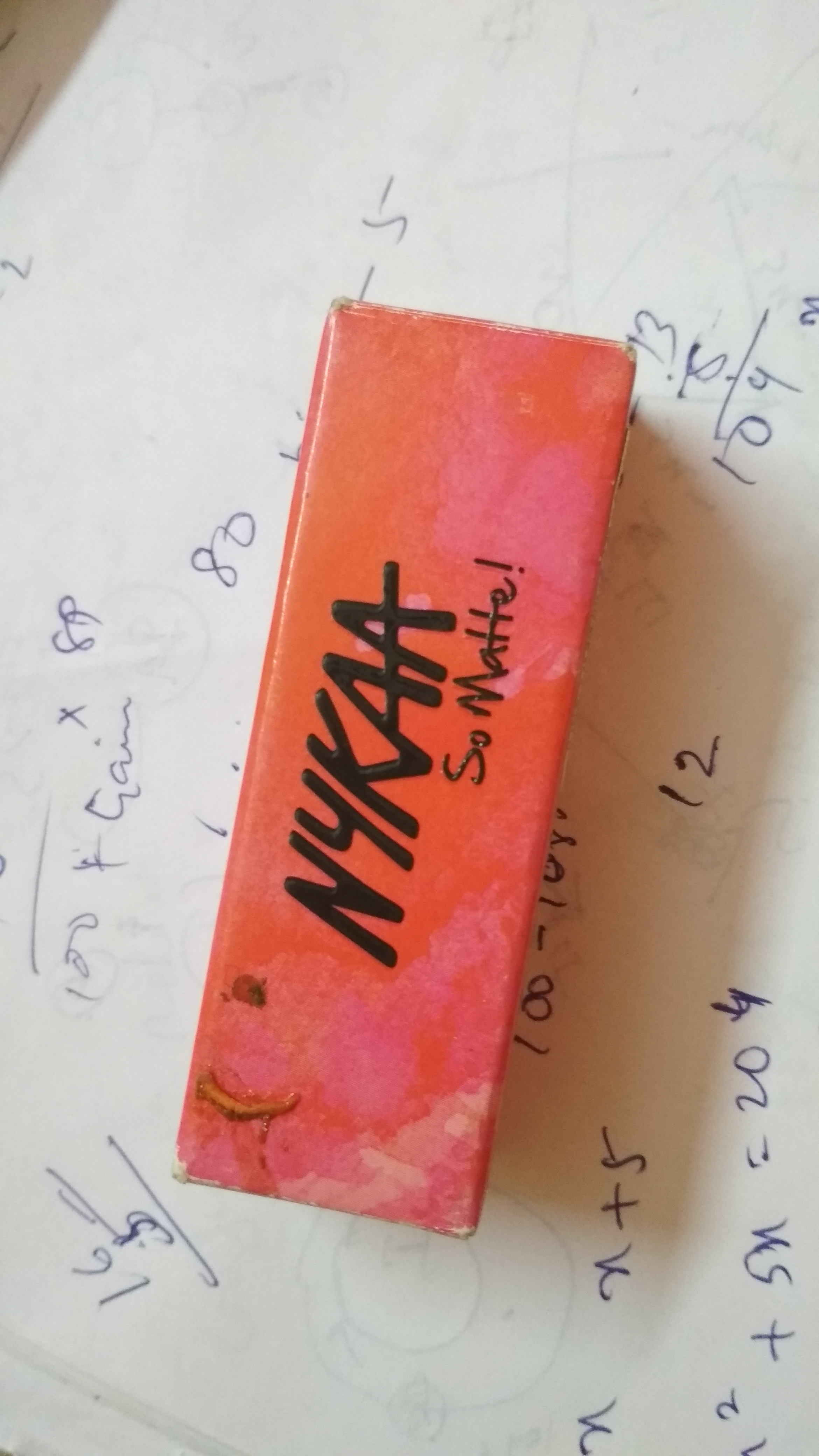 Nykaa So Matte Lipstick-Nykaa so matte-By mitshu98-2