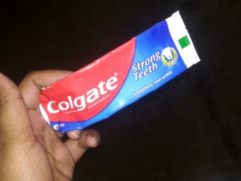 Colgate Strong Teeth Toothpaste -Colgate strong teeth toothpaste-By mitshu98