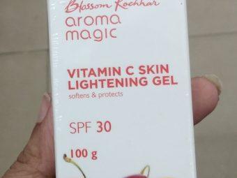 Aroma Magic Vitamin C Skin Lightening Gel SPF 30 pic 2-Not satisfied-By Nasreen
