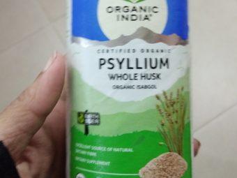 Organic India Whole Husk Psyllium pic 1-Amazing product-By Nasreen