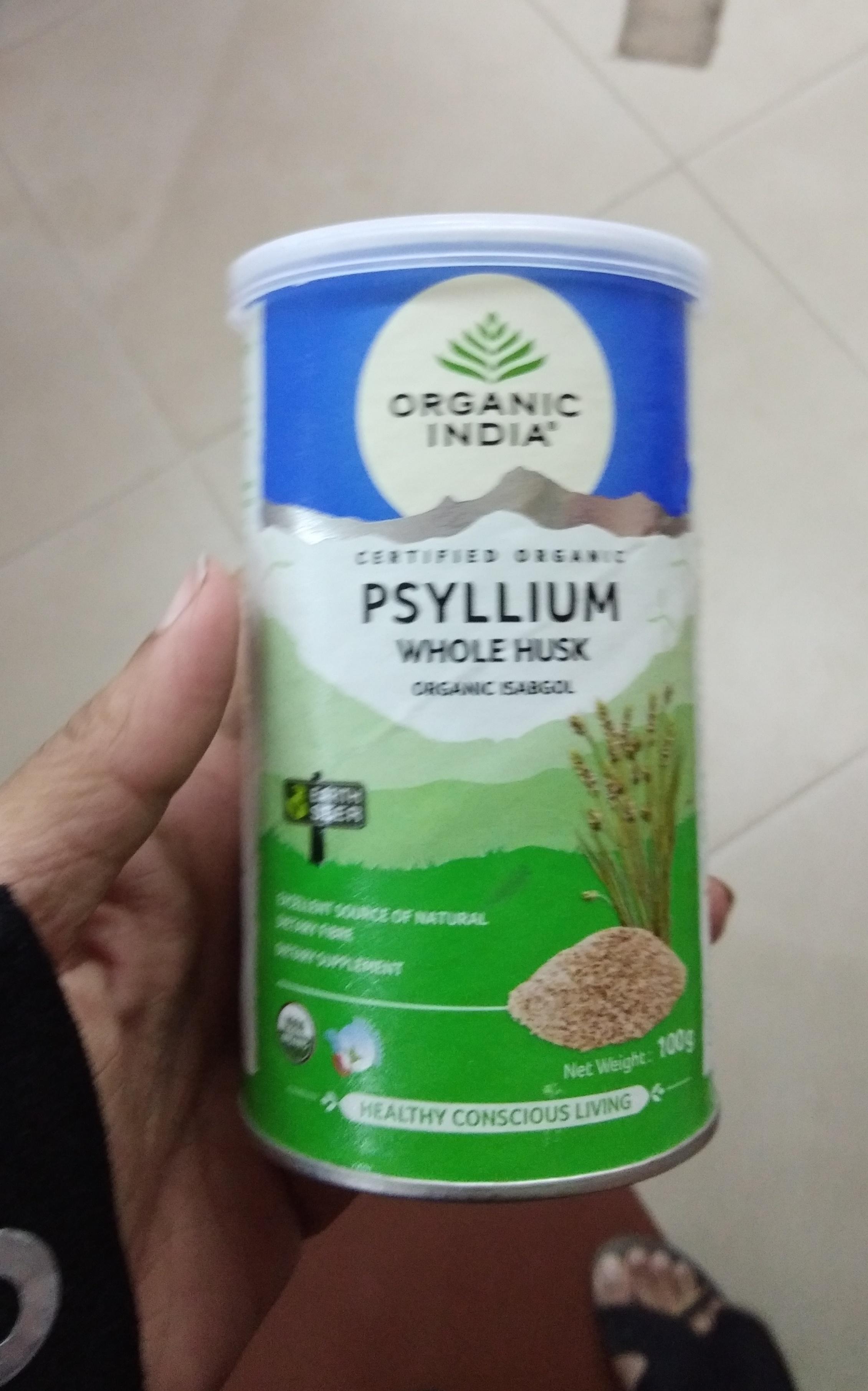 Organic India Whole Husk Psyllium-Amazing product-By Nasreen-1