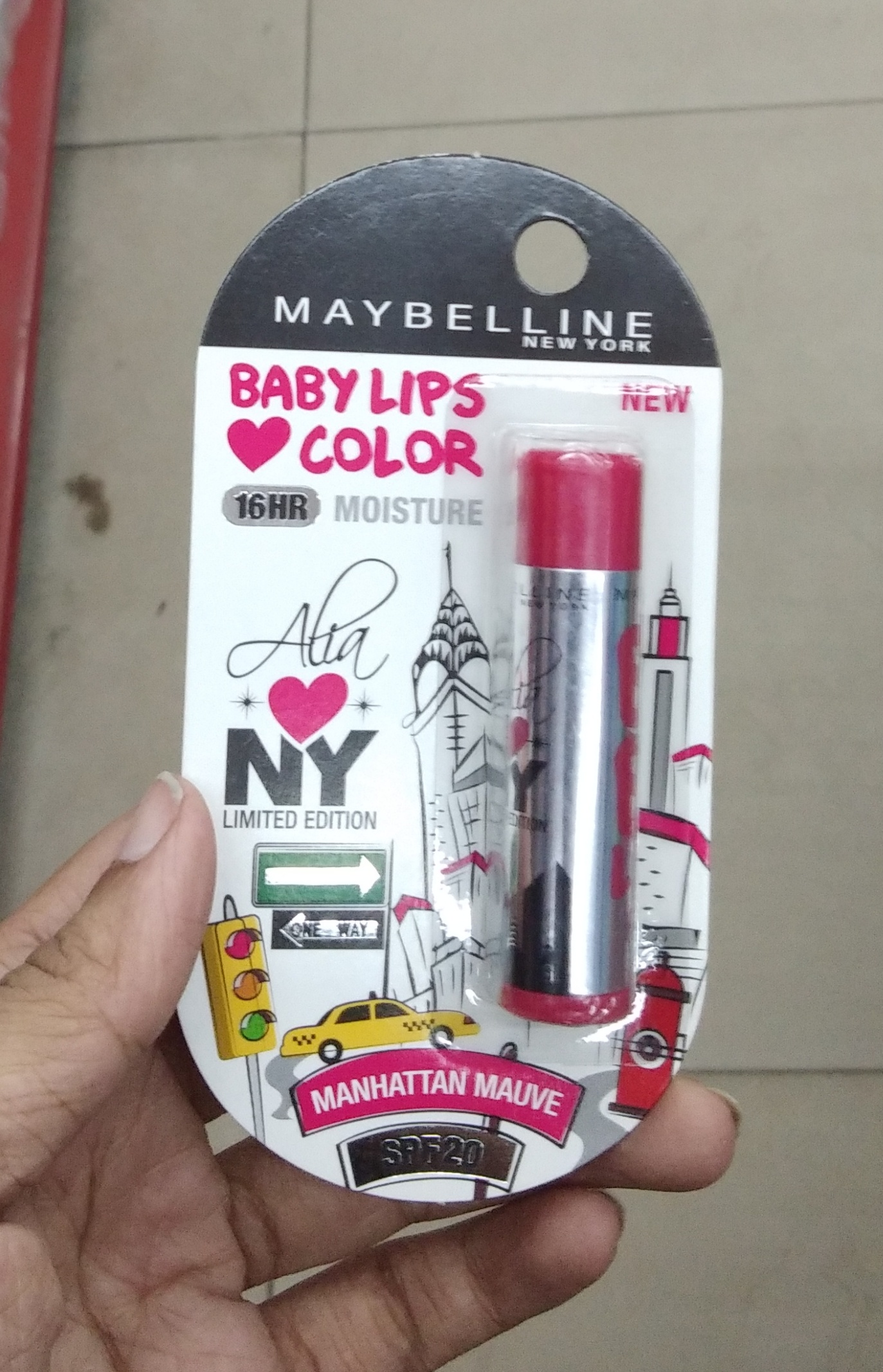 Maybelline New York Baby Lips Color Candy Rush Lip Balm-Love it-By Nasreen-2