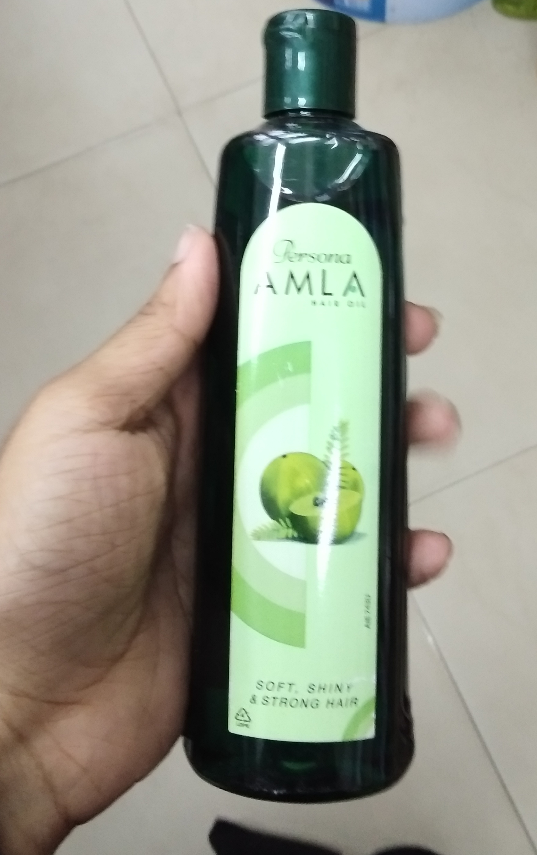 Amway Persona Amla Hair Oil pic 2-Not worthy-By Nasreen