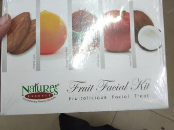 Nature's Essence Fruit Facial Kit pic 1-Good one-By Nasreen