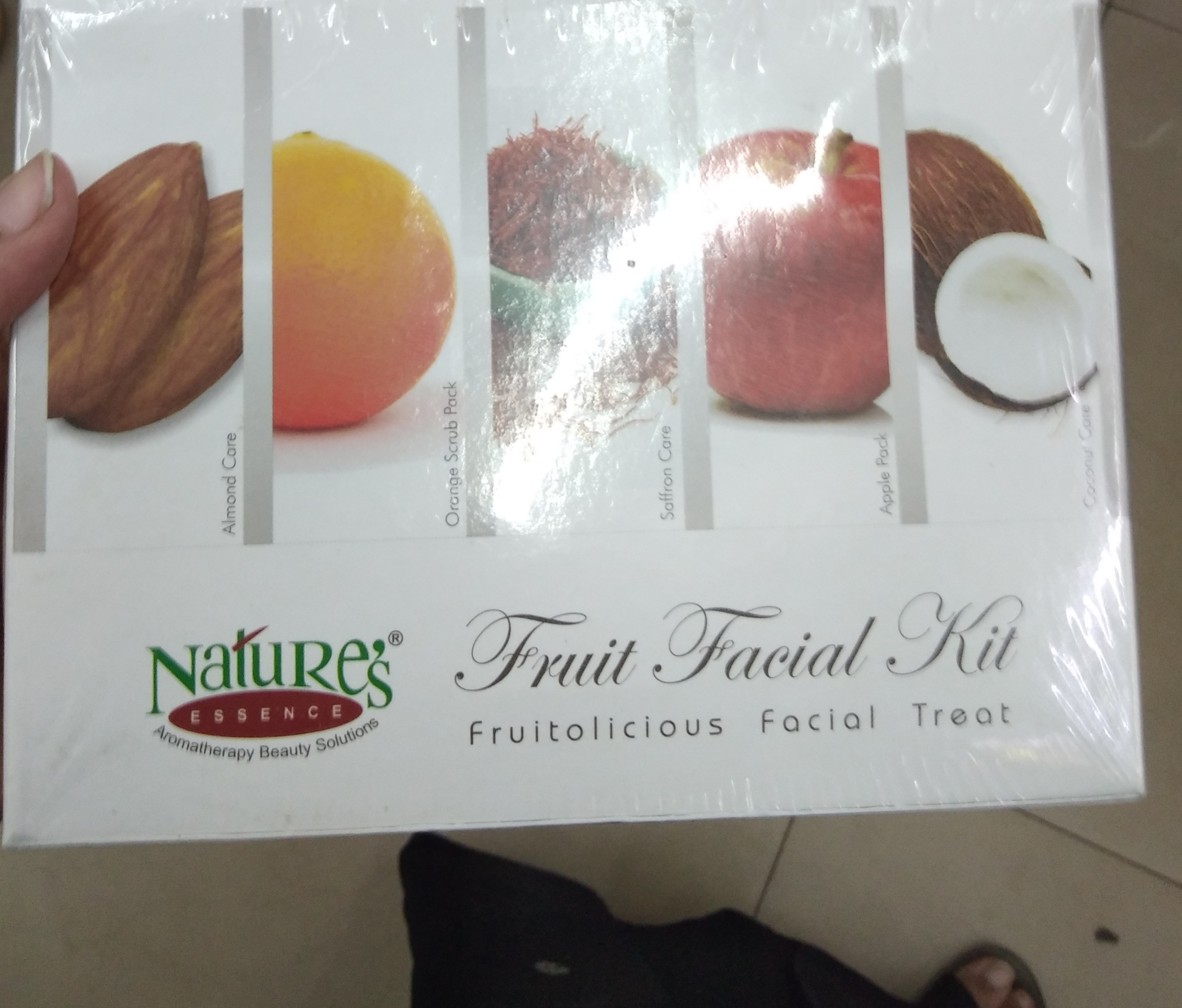 Nature's Essence Fruit Facial Kit-Good one-By Nasreen-1