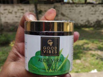 Good Vibes Aloe Vera Gel -Best aloevera gel-By mitshu98