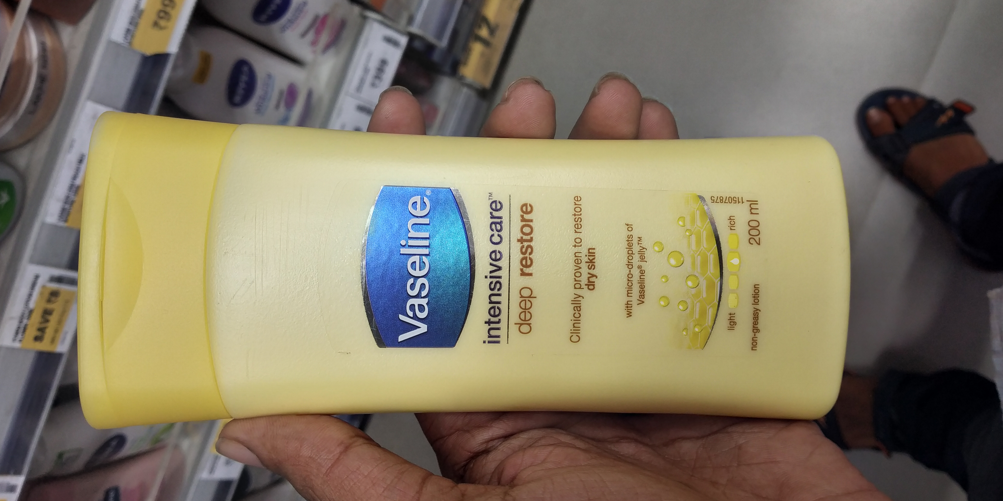 Vaseline Intensive Care Deep Restore Body Lotion-Best lotion-By mitshu98