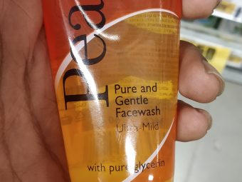 Pears Oil Clear Glow Face Wash -Pears Fantastic Face wash-By mitshu98
