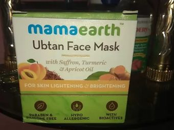 MamaEarth Ubtan Face Mask pic 2-Mamaearth facemask-By mitshu98