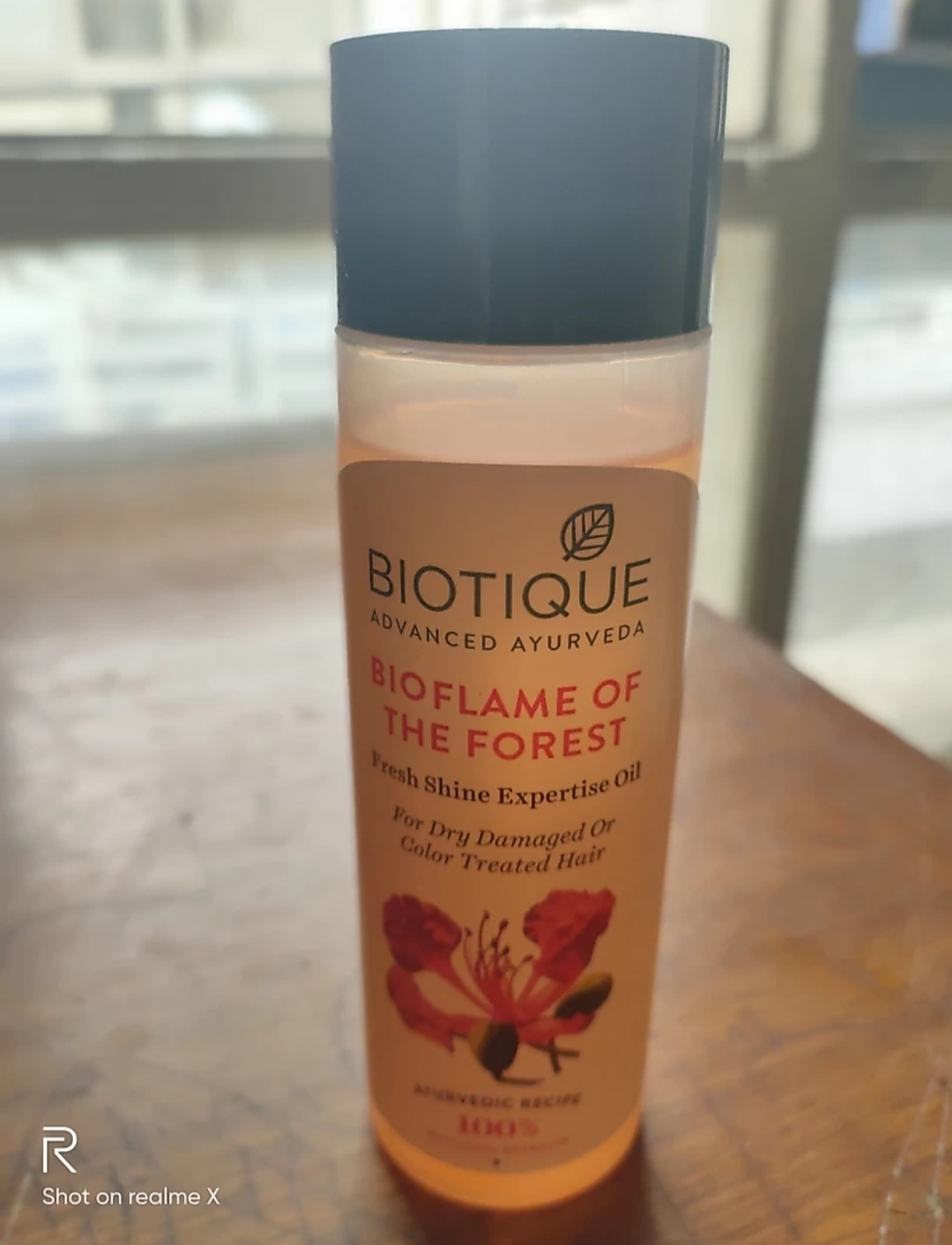 Biotique Bio Flame Of The Forest Fresh Shine Expertise Oil-Best Oil-By mitshu98