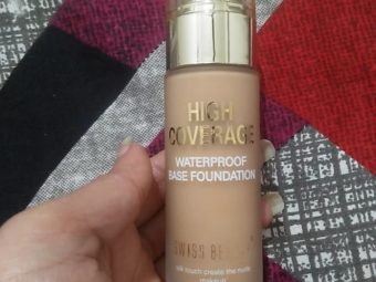 Swiss Beauty High Coverage Waterproof Base Foundation -Great foundation-By mitshu98