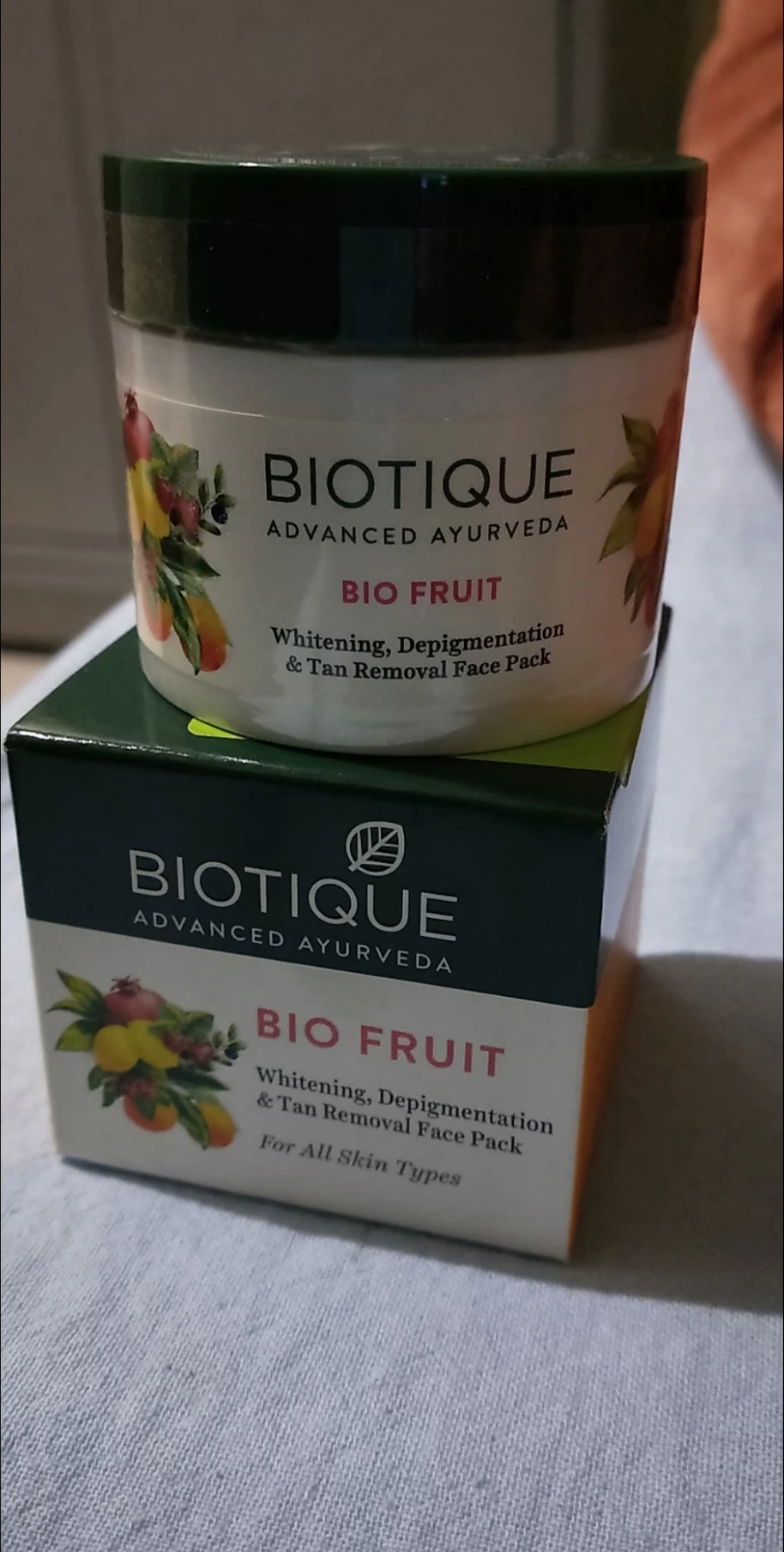 Biotique Bio Fruit Whitening & Depigmentation Face Pack-Biotique Bio Fruit whitening Face pack-By mitshu98
