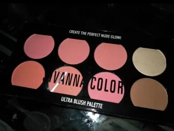 Sivanna Ultra Blush Palette -Sivanna Ultra Blush Palette-By mitshu98