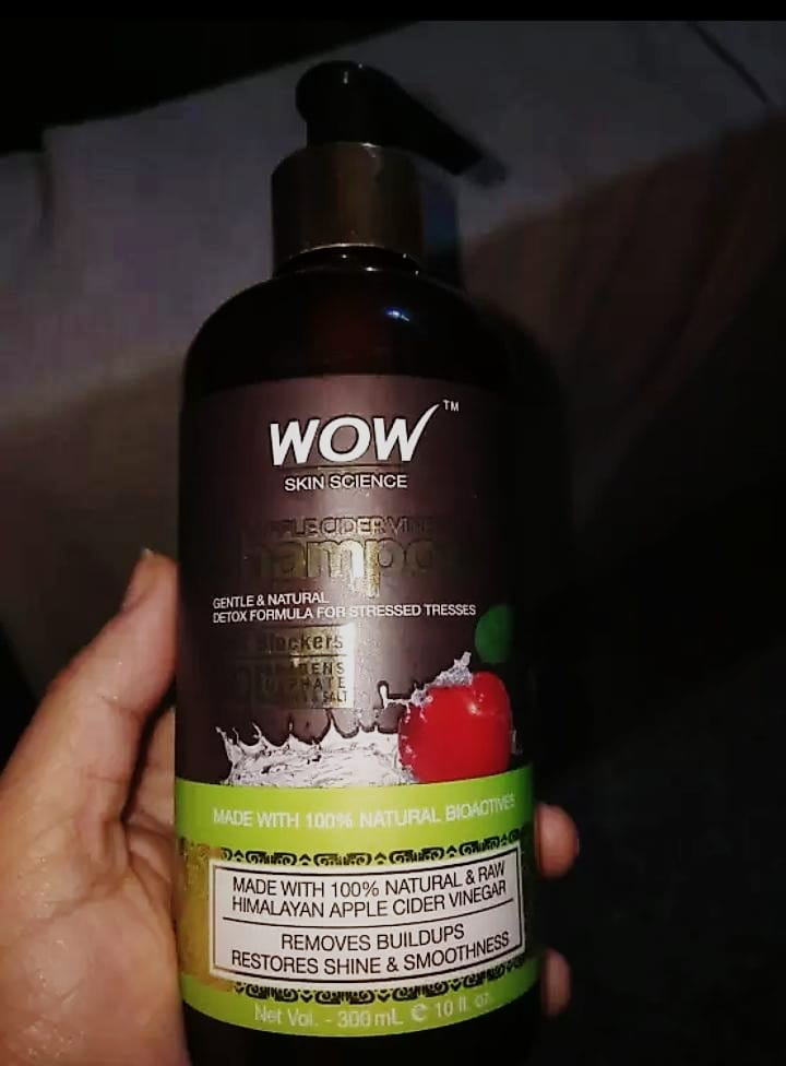 WOW Apple Cider Vinegar Shampoo-Wow Apple cider Shampoo-By mitshu98