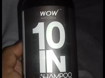 WOW Skin Science Miracle 10 in 1 Shampoo -Miracle Shampoo-By mitshu98