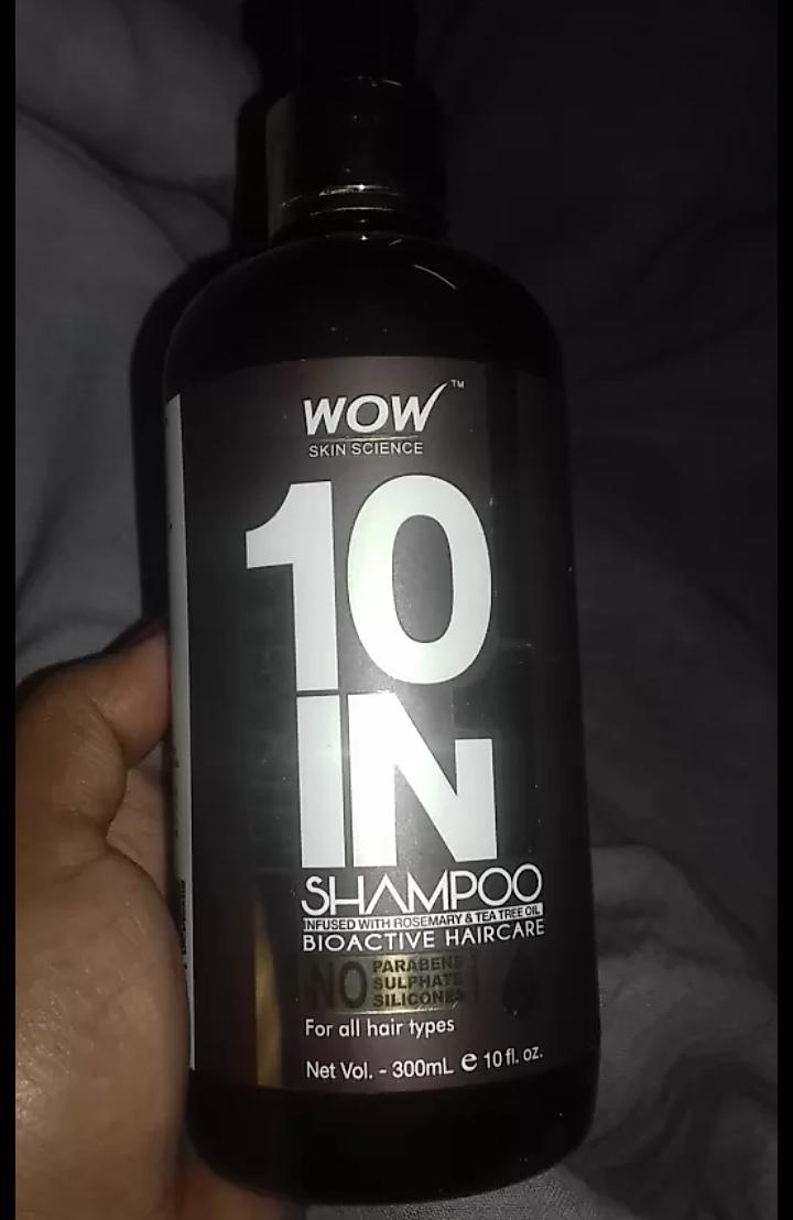 WOW Skin Science Miracle 10 in 1 Shampoo-Miracle Shampoo-By mitshu98