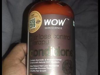WOW HAIR LOSS CONTROL THERAPY CONDITIONER pic 2-WOW HAIR LOSS CONTROL THERAPY CONDITIONER-By mitshu98