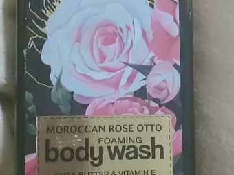 WOW Skin Science Moroccan Rose Otto Foaming Body Wash pic 2-Moroccan rose body wash-By mitshu98