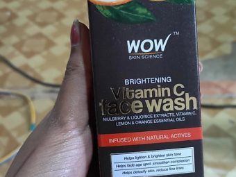 WOW Skin Science Brightening Vitamin C Face Wash -Great product.-By mitshu98