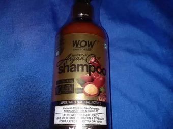 WOW Skin Science Moroccan Argan Oil Shampoo -WOW Skin Science Moroccan Argan Oil Shampoo-By mitshu98