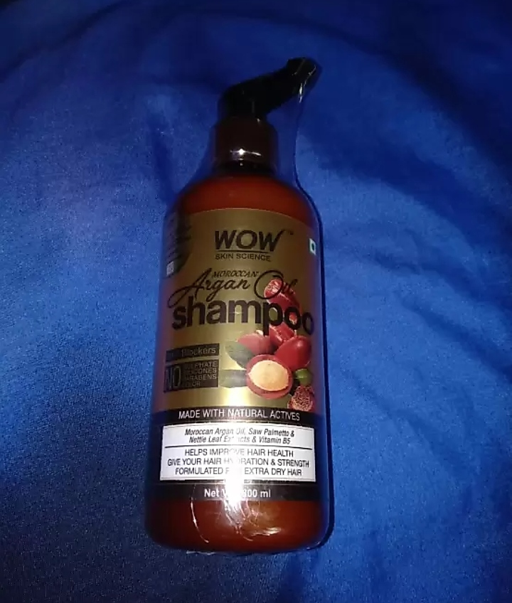 fab-review-WOW Skin Science Moroccan Argan Oil Shampoo-By mitshu98