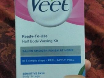 Veet Cold Wax Strips – Instant Waxing Kit -Waxing kit-By sonithapa