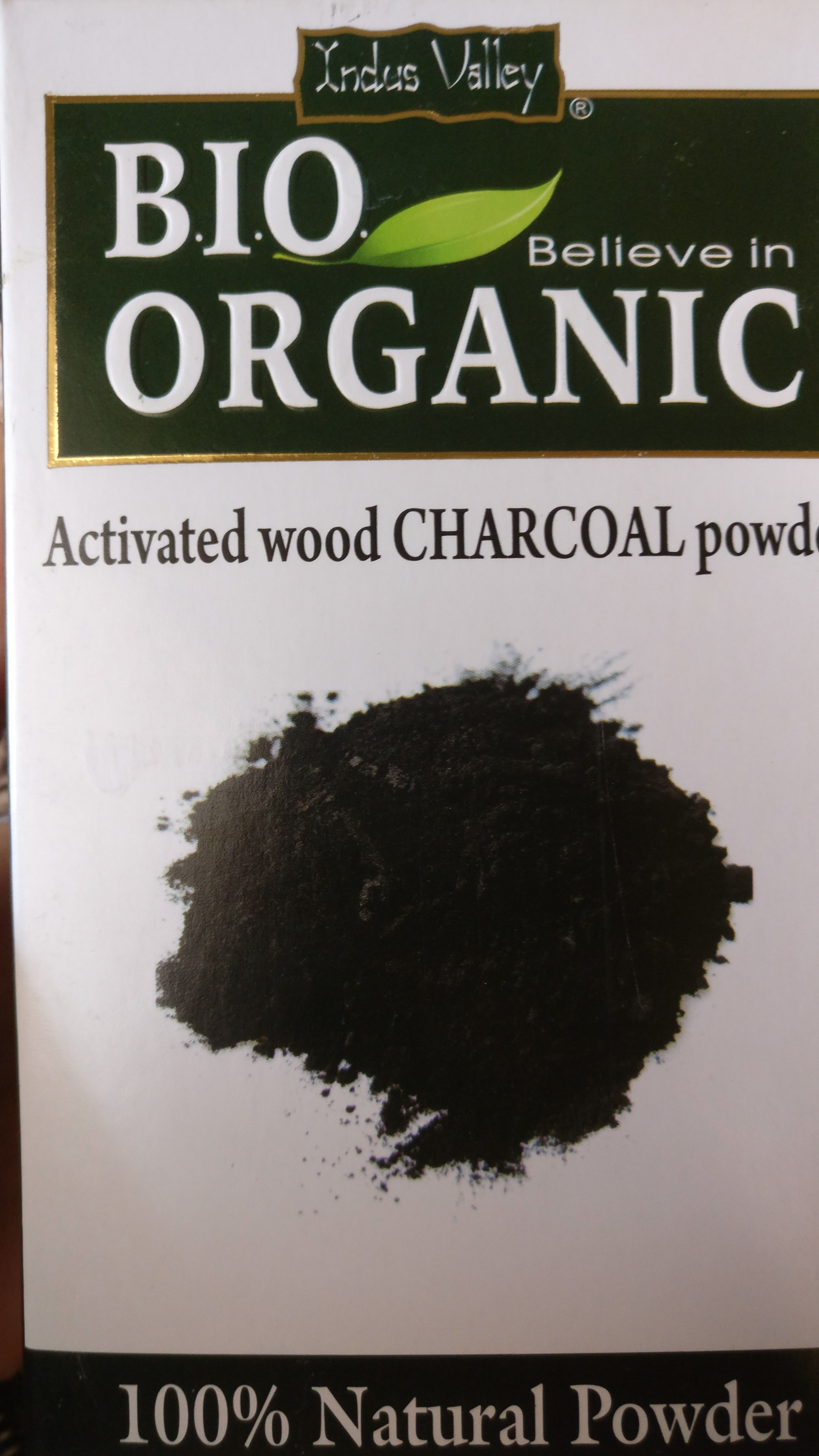Indus Valley 100% Natural Activated Charcoal Powder -Best remedy for blackheads-By anushree10