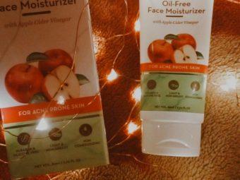 Mamaearth Oil Free Face Moisturizer With Apple Cider Vinegar -Apple Cider Vinegar moisturizer-By priyanka___ydv