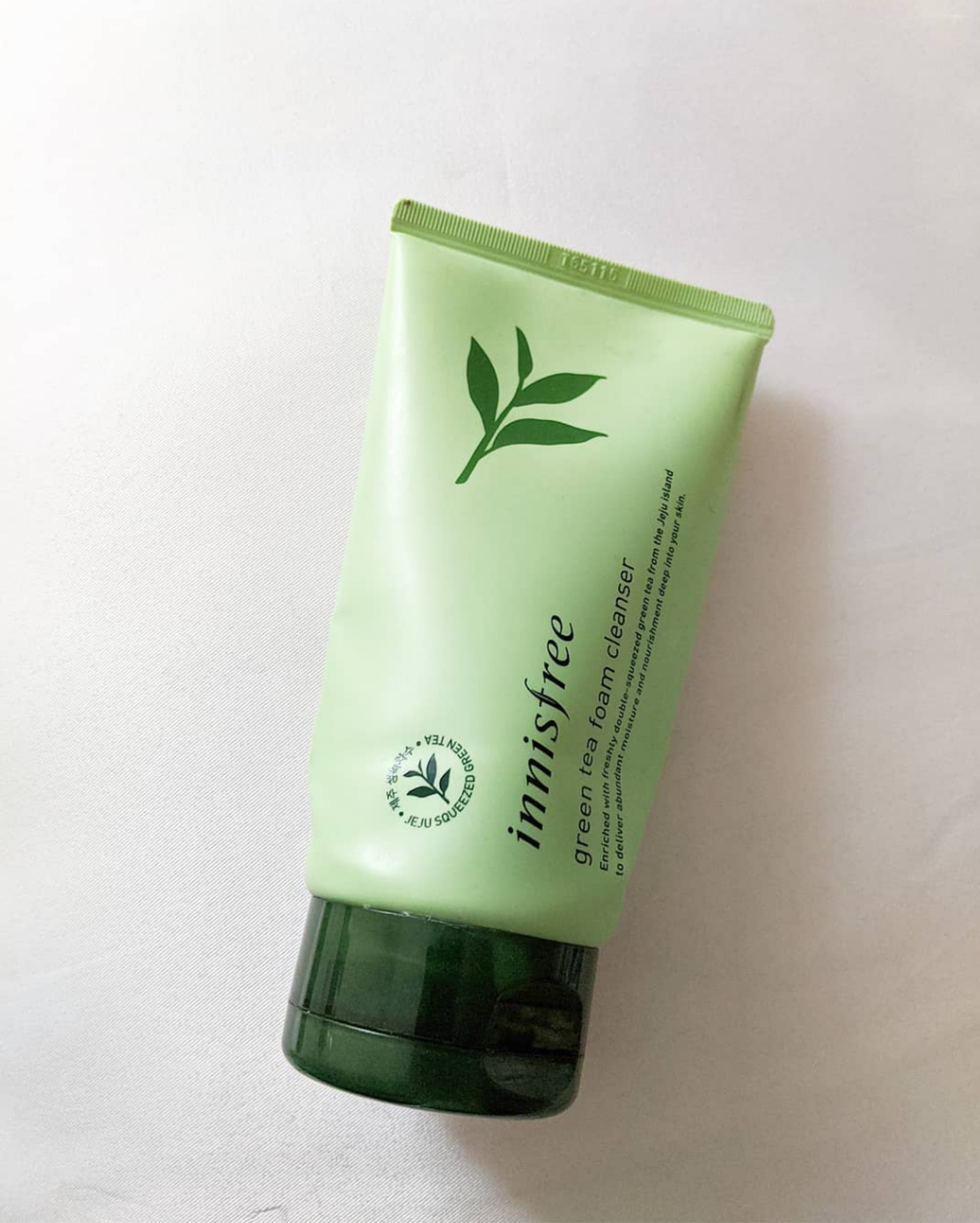Innisfree Green Tea Cleansing Foam -Innisfree Green Tea Cleansing Foam-By thebeautybucket