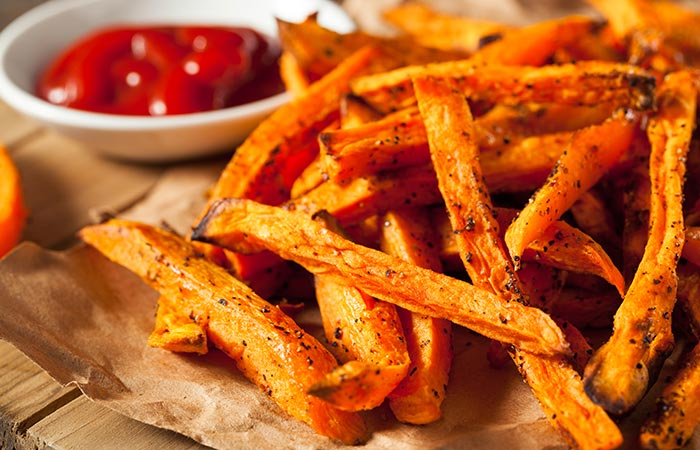use sweet potatoes