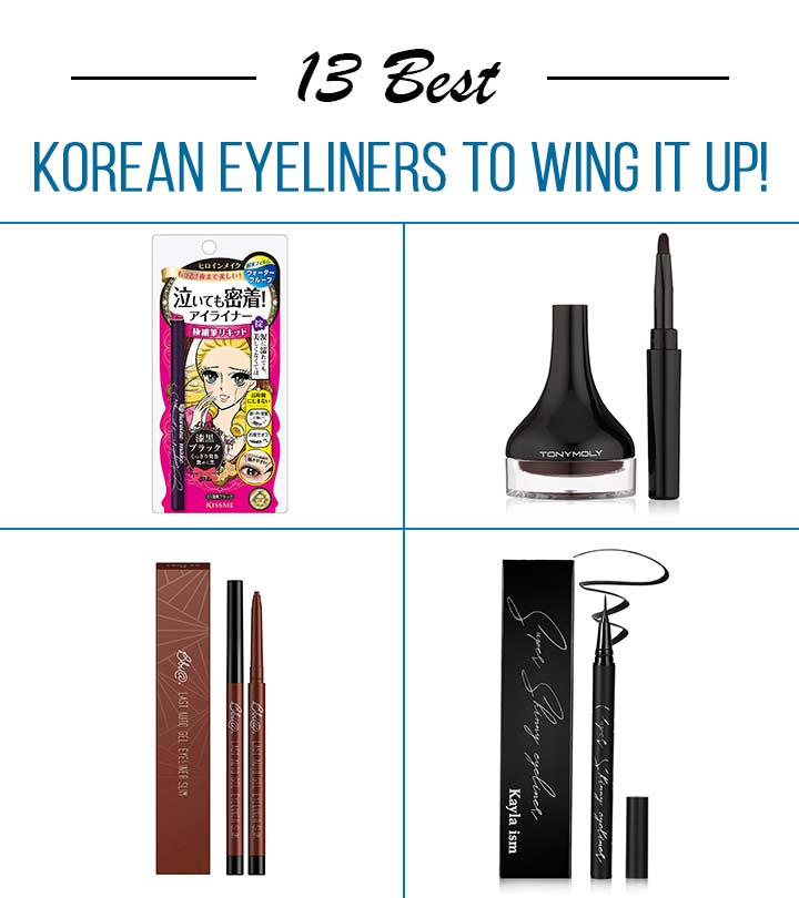 13 Best Korean Eyeliners To Wing It Up