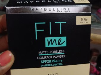 Maybelline Fit Me Matte And Poreless Powder -Nice product-By food_blog959