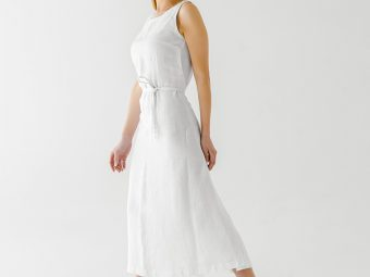 17 Comfortable Linen Dress And Outfit Ideas For Women