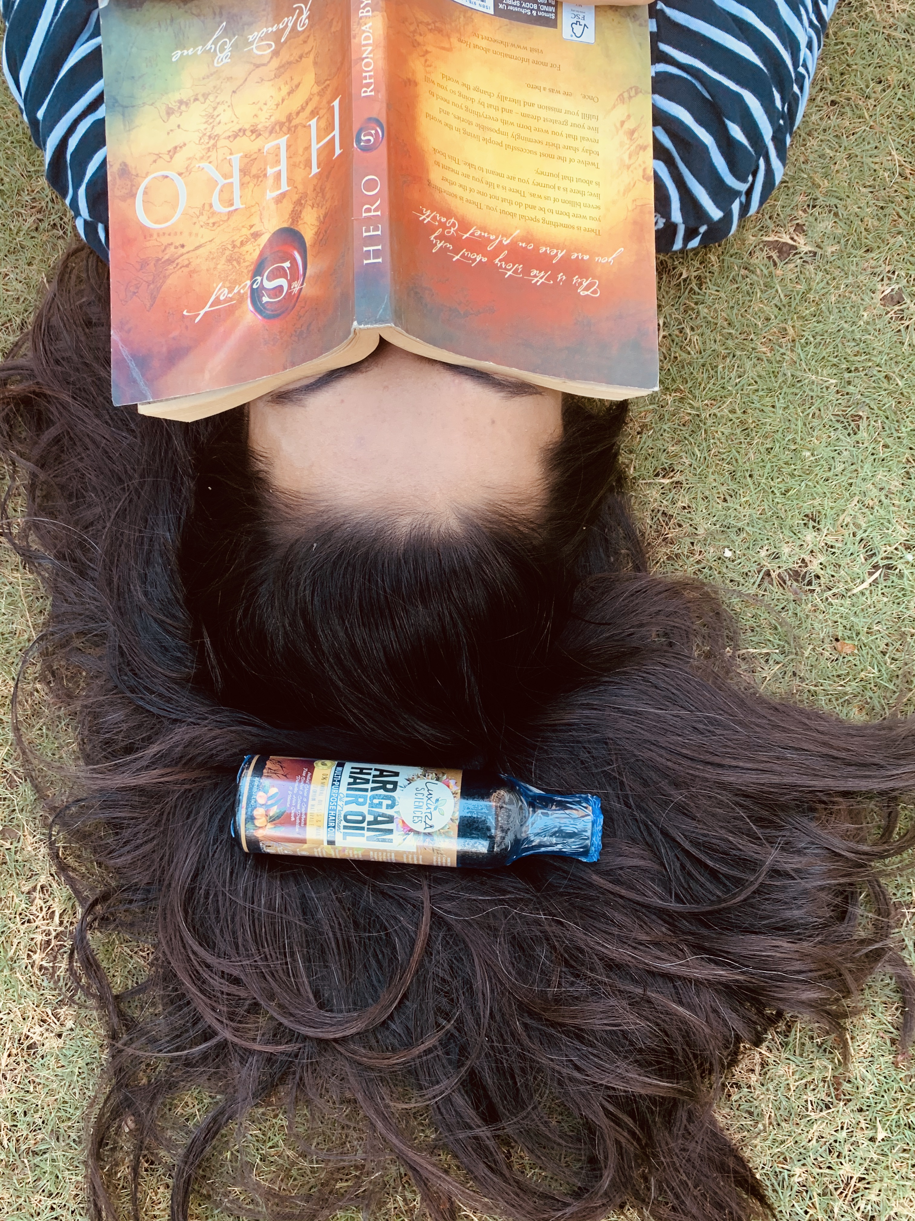 Luxura Sciences Argan Hair Oil 200 ml-An Oil which can also be used as a daily serum-By anmol_mulchandani-2