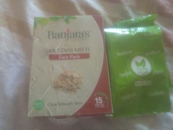 Banjaras Multani Mitti Face Pack Powder -Removes excess oil and brightens complexion-By aden