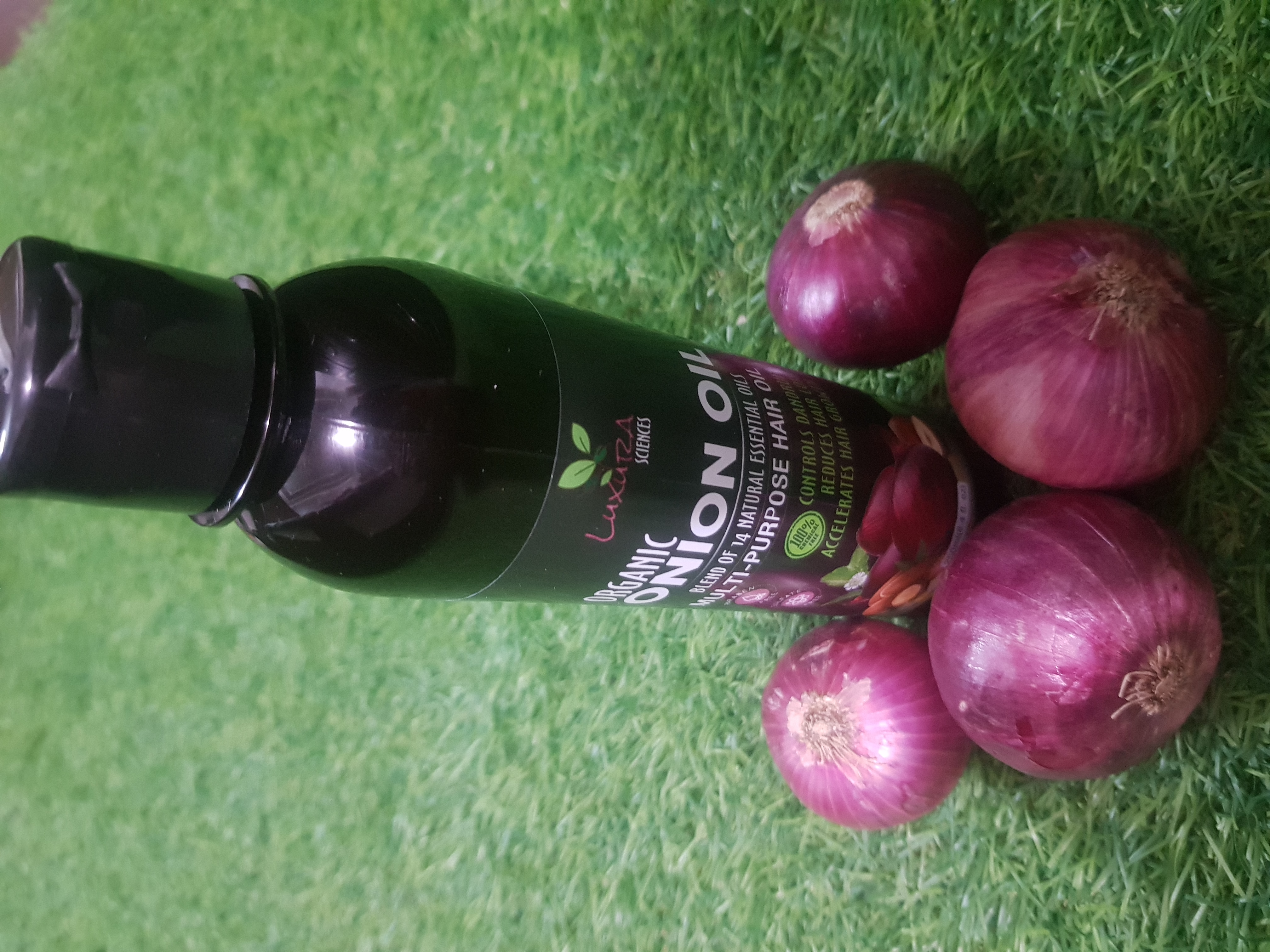 Luxura Sciences Advanced Onion Oil 250 ml-Makes hair manageable and frizz free!-By mridulakarora-2
