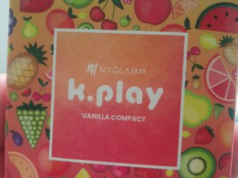 MyGlamm K.PLAY FLAVOURED COMPACT pic 2-Effortless & great coverage-By drrawat_geetika