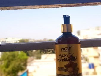 WOW Skin Science Moroccan Argan Oil Conditioner -hydrating and super smooth hair-By sneha9850