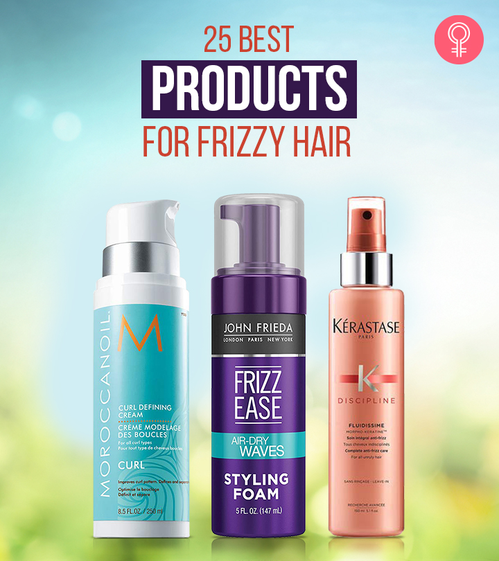 25 Best Products (Reviews) For Frizzy Hair That You Need To Try In 2021