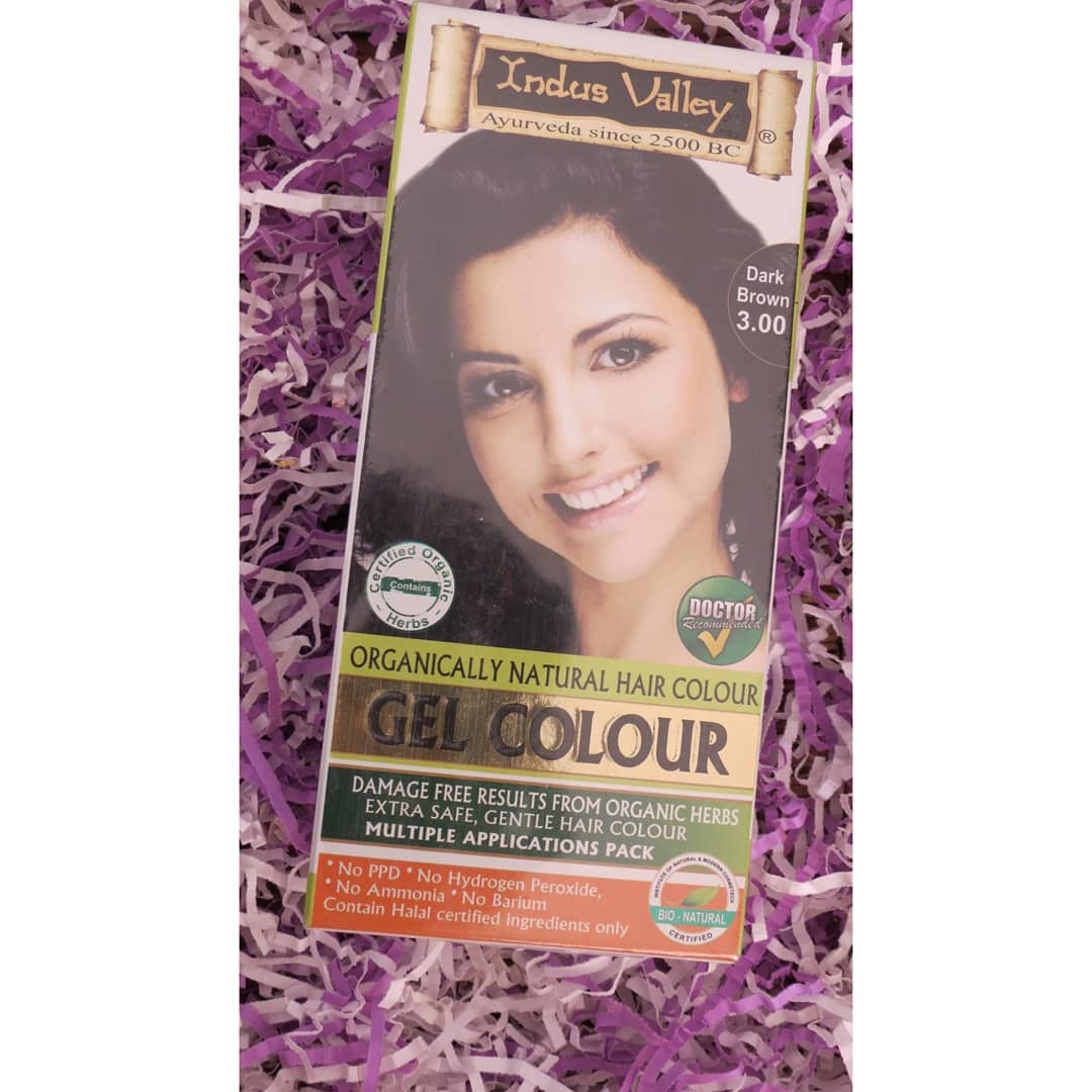 Indus Valley Organically Natural Gel Hair Color Dark Brown-Good hair colour-By priyanka_ahire-2