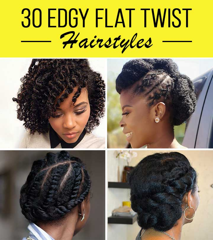 30 Edgy Flat Twist Hairstyles You Need To Check Out In 2020