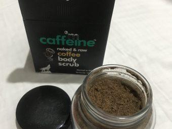 MCaffeine Naked & Raw Coffee Body Scrub pic 2-Amazing coffee scrub-By himaninailwal