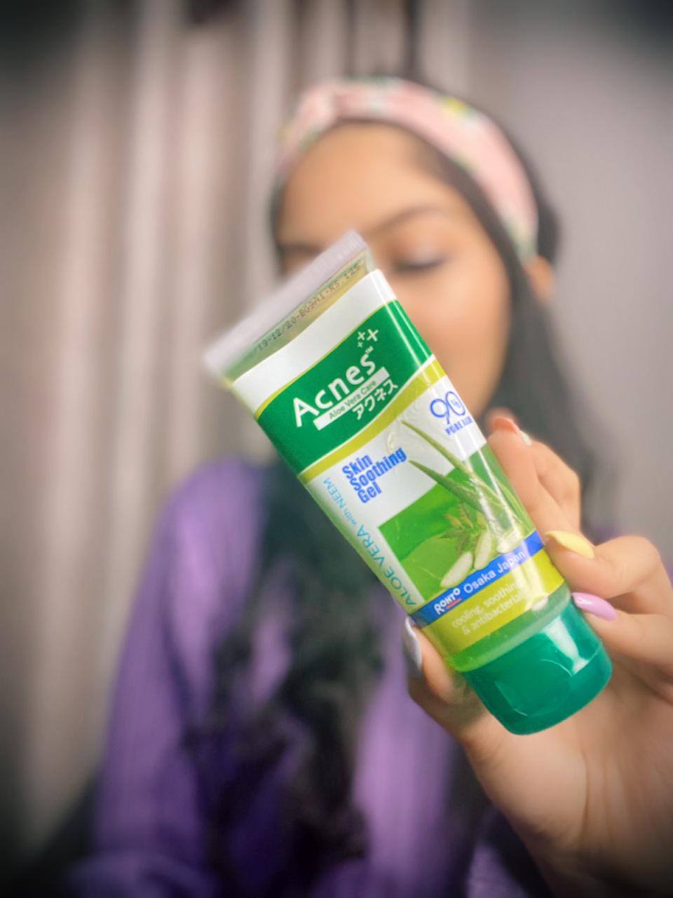 Acnes Skin Soothing Gel-calms the skin-By srishty