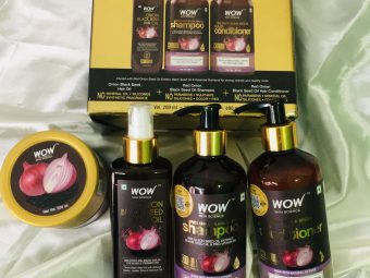 WOW Skin Science Onion Black Seed Hair Oil -One of the best hair oil-By sony6661