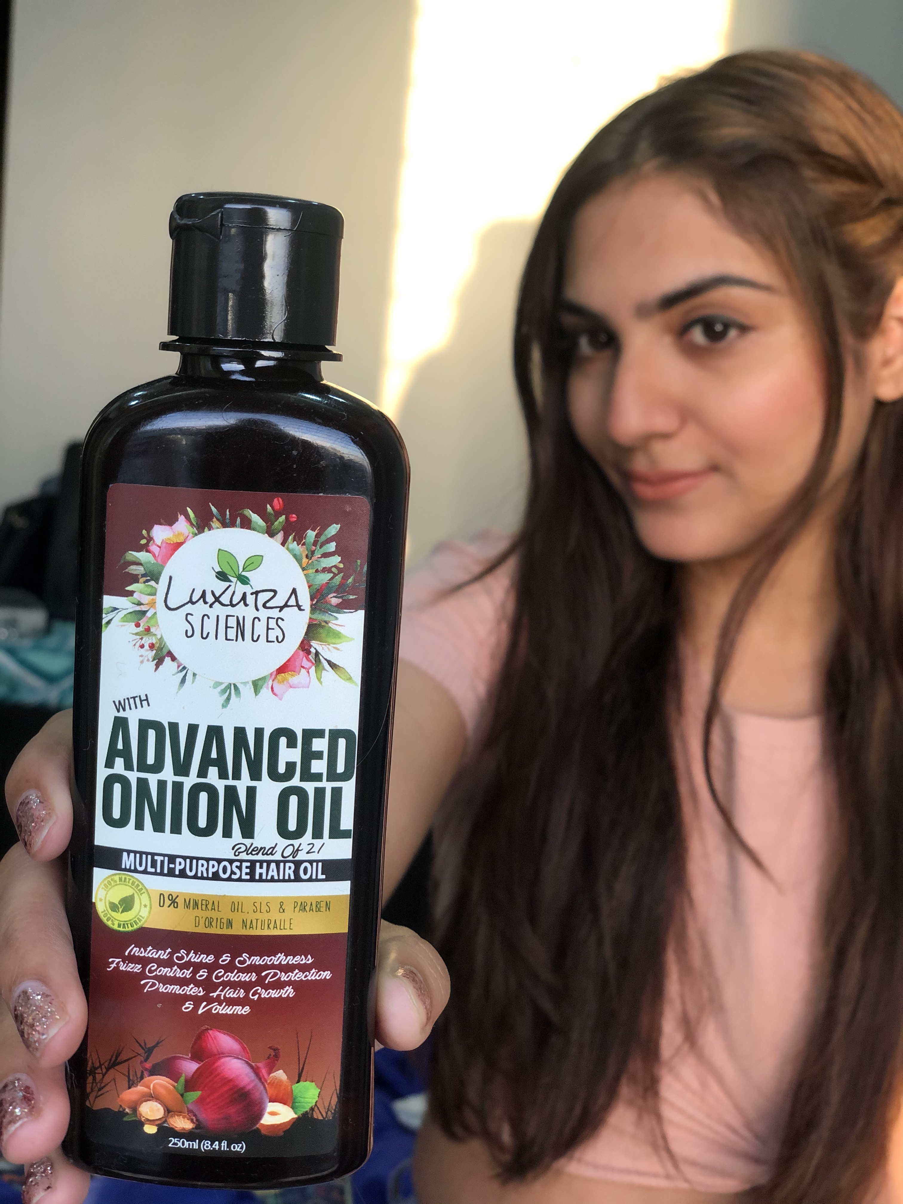 Luxura Sciences Advanced Onion Oil 250 ml-Promote hair growth and volume-By aditi_awasthi